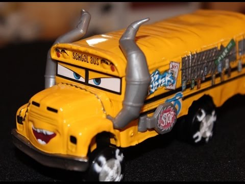 Xxx Mp4 Mattel Disney Cars 3 Miss Fritter Demolition Derby School Bus Die Cast 3gp Sex