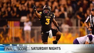 Highlights: Arizona State football upsets No. 5 Washington in defensive clash