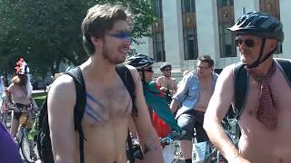 Cardiff 2016 Naked Bike Ride 2016 part3 Warning Contains Full Frontal Nudity