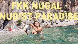 THE NUDIST BEACH FKK NUGAL, CROATIA  -  UNDERWATER WILDLIFE