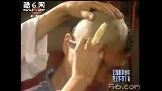 beautiful woman become BUDDHIST SHave and become nun