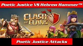 Poetic Justice VS Hebrew Hammer™    2nd War