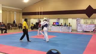 Taekwondo Sukipt 2018- Muhd Alif vs Syahmi