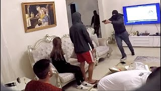 BREAKING INTO HOUSE ROBBERY GONE WRONG !!!