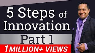 5 Steps of Innovation | Part 1 | Hindi | By Dr Vivek Bindra | Leadership Trainer