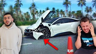 I Let My Little Cousin Drive My BMW i8, THEN THIS HAPPENED...