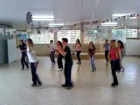 Coreografia Rio Negro e Solimões É na sola da bota