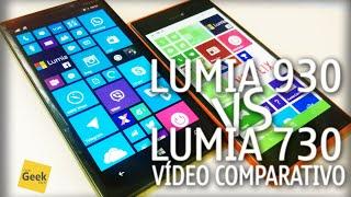 Lumia 930 vs Lumia 730 - Vídeo Comparativo [SemanaTech]