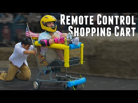 REMOTE CONTROL Shopping Cart not Fortnite