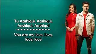 Tu Aashiqui (Title Track) - Rahul Jain - OST Colors - Lyrical Video With Translation