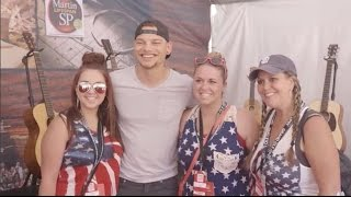Go Behind the Scenes with Kane Brown