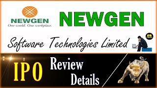 NEWGEN Software IPO - Review - Details & Analysis  - हिन्दी मे  - IPO