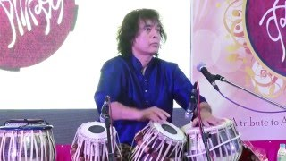 Ustad Zakir Hussain performing at Vasantotsav 2016