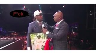 Takkarist McKinley Gets Emotional At The NFL Draft (And Curses LIVE)