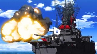 WARSHIPS IN ACTION! FIRE SCENE(High School Fleet ハイスクール・フリート)