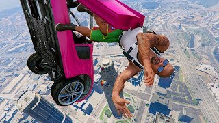 Happy Time With Vehicles(GTA 5 Crazy Cars Crashes)