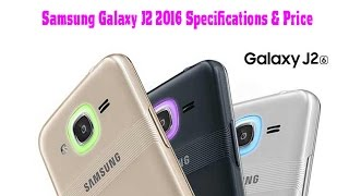 Samsung Galaxy J2 2016 Android Phone Full Specifications & Price in Bangladesh