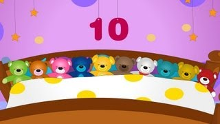 Ten in the bed | Ten in bed | Nursery rhyme