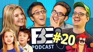 FBE PODCAST | Kids React, Don't Hug Me, Muppets (Ep #20)
