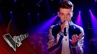 Jamie Miller performs 'Shape of You': The Knockouts | The Voice UK 2017