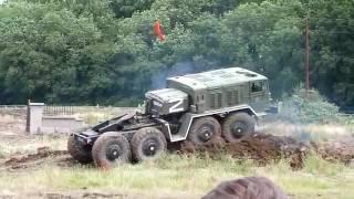 Maz Truk Militer Rusia