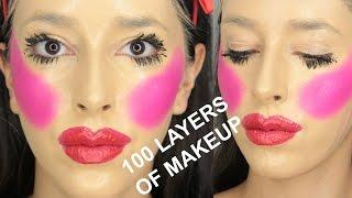 100 Layers of Makeup
