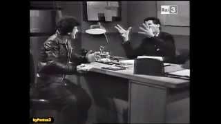 Franco e Ciccio durante l'interrogatorio