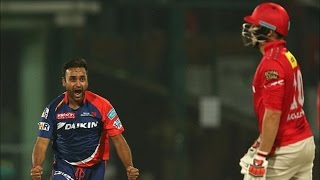 IPL 2016 | Kings XI Punjab vs Delhi Daredevils | Amit Mishra Helps Delhi Restrict Punjab To 111 Runs