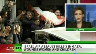 Gaza Under Fire: Israel air assault claims civilian lives