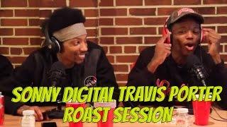 Sonny Digital & Travis Porter's Quez Lenox Square Track & @DCYoungFly Roast Session  @sonnydigital