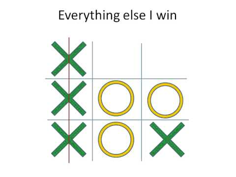Xxx Mp4 Tic Tac Toe Never Lose Usually Win 3gp Sex