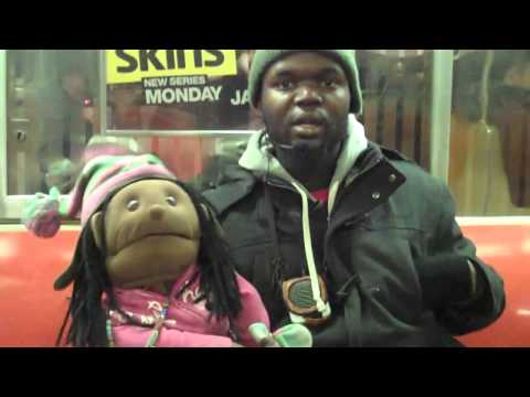 Cindy Hot Choclate & Docta Gel get interviewed on the D Train