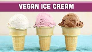 Homemade Vegan Ice Cream (No Machine)! 3-Ingredients! Mind Over Munch
