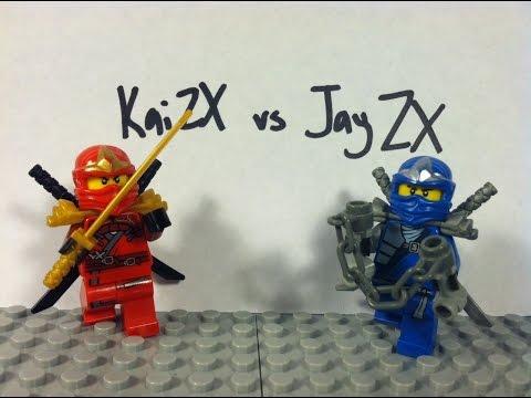 Lego Ninjago: Kai ZX vs Jay ZX