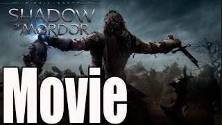 Middle Earth Shadow of Mordor All Cutscenes / Full Movie / Game Movie