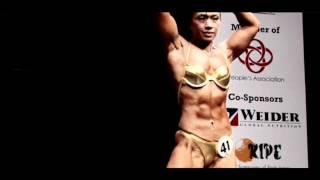 Best Filipino Female Bodybuilder - Rowena Marcaida