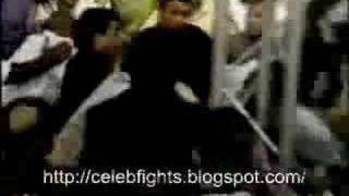 Angry Boxer Fights Audience