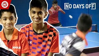 Table Tennis Superstars   10 & 12-Year-Old Brothers