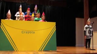 """The Day the Crayons Quit"" - Oak Hill Academy"
