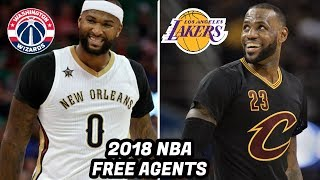10 NBA Free Agents in 2018 That Will Own the Next NBA Offseason! LeBron, Paul George, Cousins