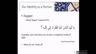 Lecture 7: Our Identity - Shaykh Professor Kamaluddin Ahmed