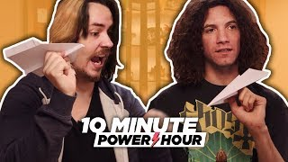 Piloting The Perfect Paper Airplane - 10 Minute Power Hour