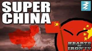 HOW TO MAKE SUPER CHINA - CHEAT/EXPLOIT - Hearts of Iron 4 (HOI4)