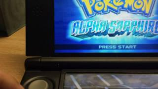 How to delete you Pokemon alpha sapphire and omega ruby file