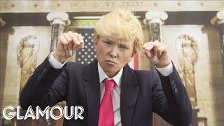 Donald Trump Halloween Makeup Tutorial ft. Kandee Johnson