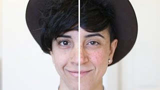 Women Get Freckle Tattoos