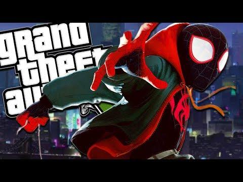 Xxx Mp4 THE NEW SPIDER MAN INTO THE SPIDER VERSE MOD GTA 5 PC Mods Gameplay 3gp Sex