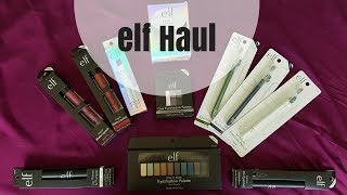 ELF HAUL 2017 / Inexpensive  Fall Makeup Haul Featuring Elf Products