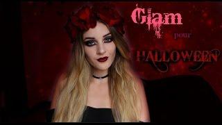 TUTO MAQUILLAGE: Glam pour Halloween