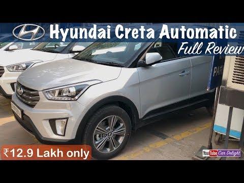 Hyundai Creta SX Plus Automatic Model Interior Exterior Walkaround and Full Review